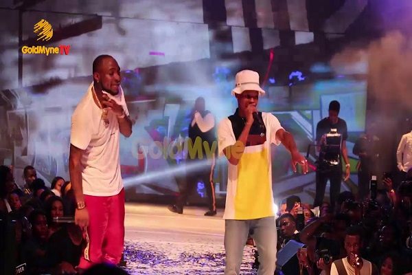 VIDEO: Nasty C And Davido Performance At The 30 Billion Concert