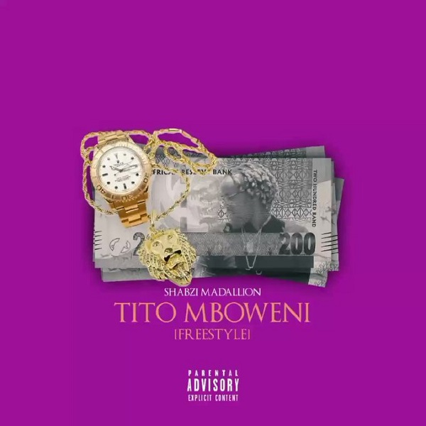 ShabZi Madallion Tito Mboweni (Freestyle) Artwork